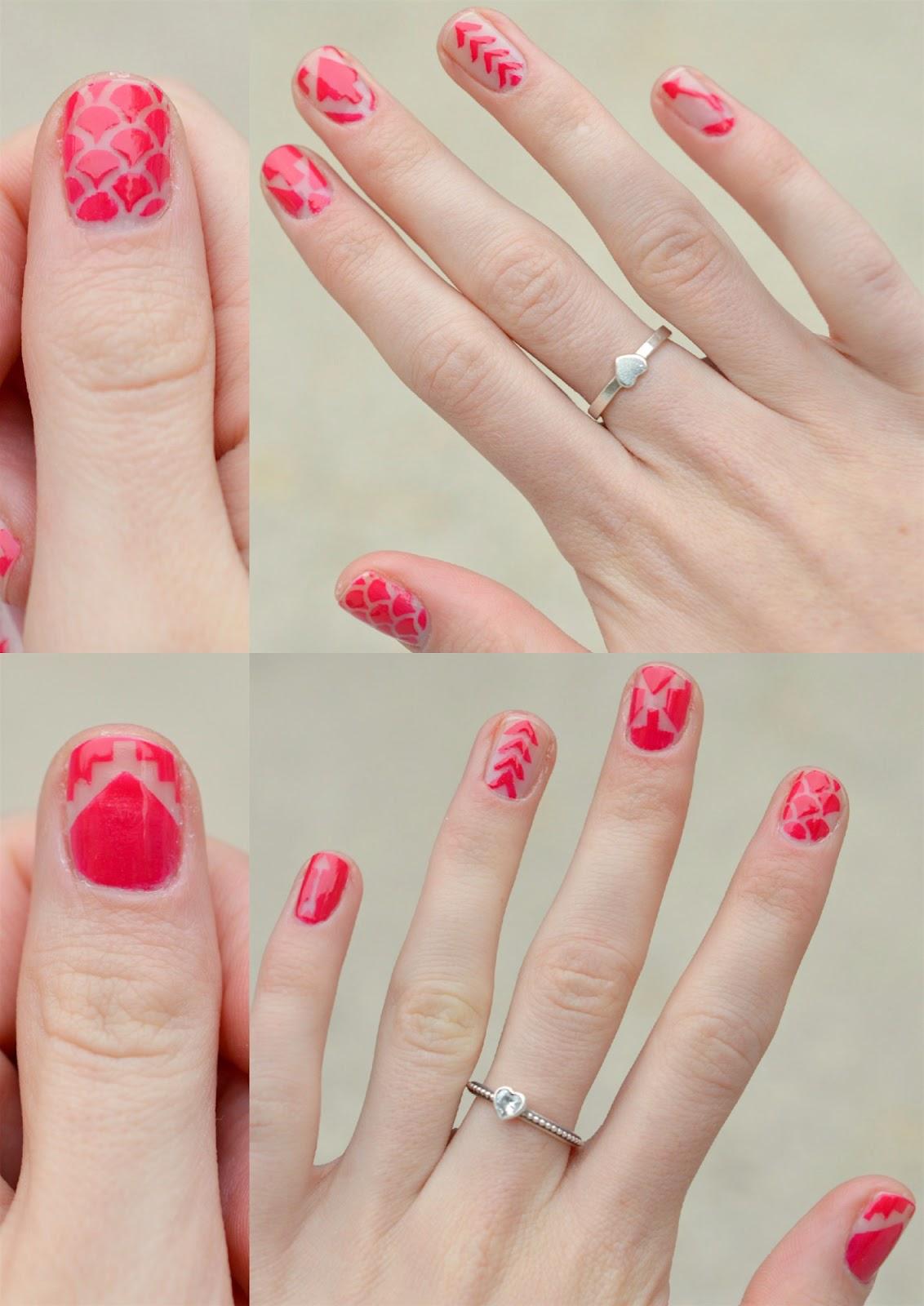 nail stencil decals