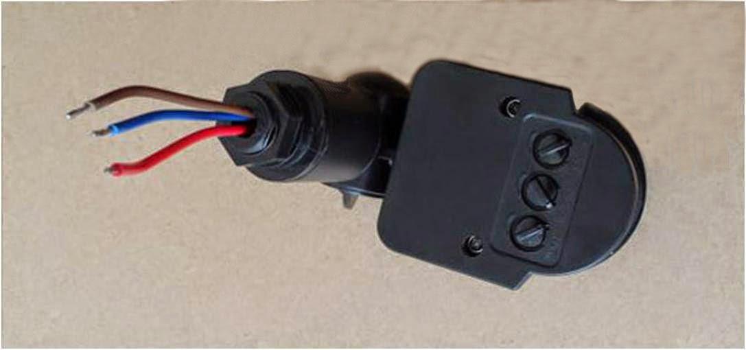 Instalar sensor de movimiento a 12v bricolage solar - Luz sensor movimiento ...