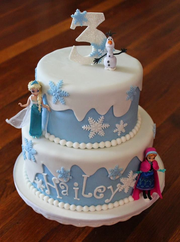Cakes by Becky: Frozen Birthday Cake