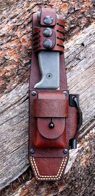 Bushcraft knife used by creek stewart on quot fat guys in the woods