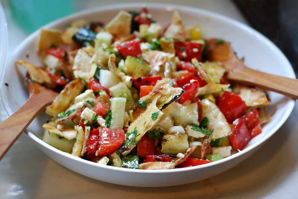 Marzipan: Fattoush {Middle Eastern Chopped Salad}