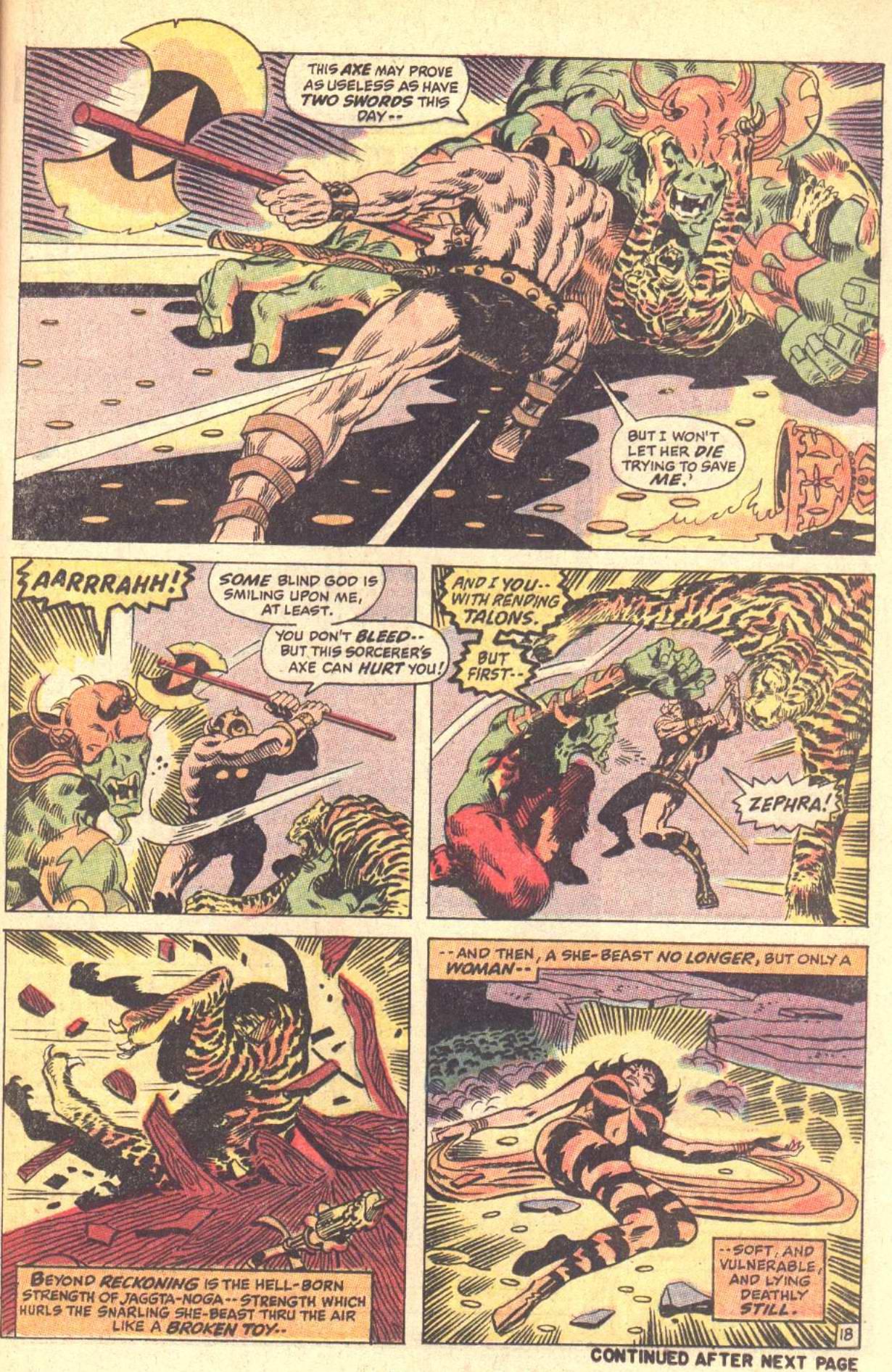 Conan the Barbarian (1970) Issue #5 #17 - English 19