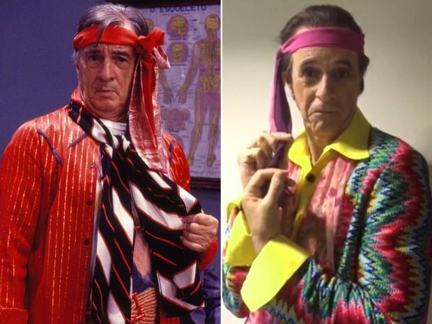 Marcos Caruso é Seu Peru, papel que foi de Orlando Drummond