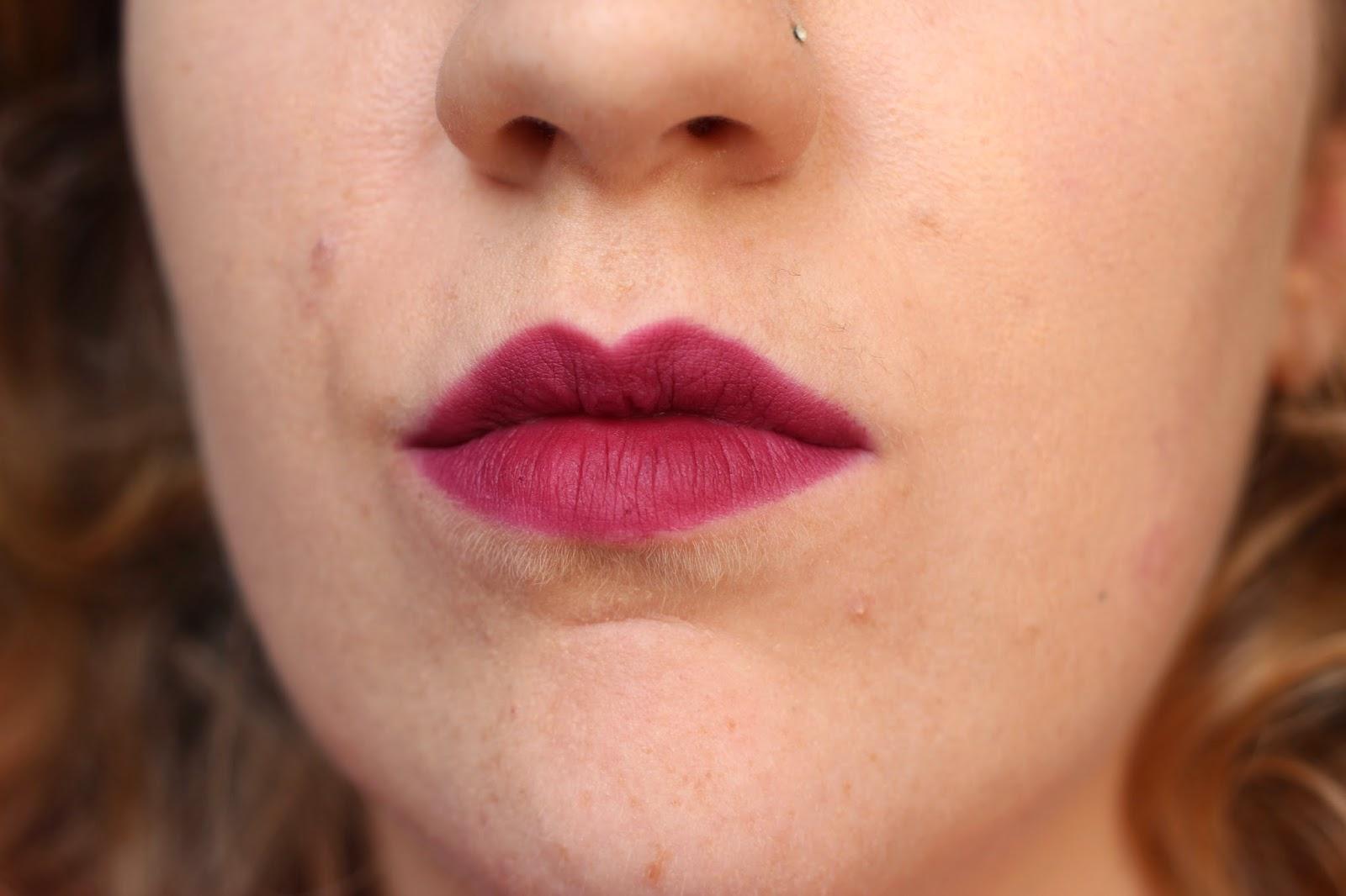 Nars Velvet Matte Lip Pencil Swatch Damned