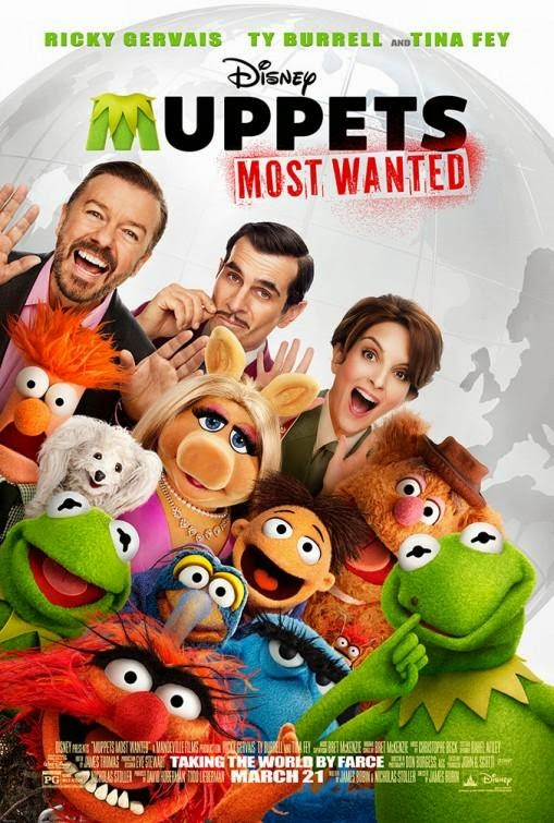 El tour de los Muppets (Muppets Most Wanted) (2014) [Cam]