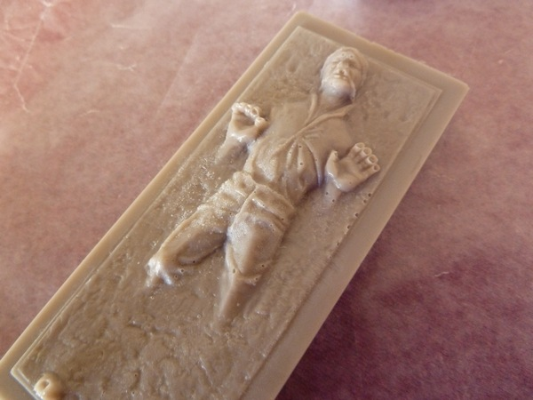 han solo carbonite soap diy