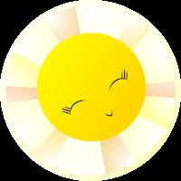 sunny smile sonriente sol