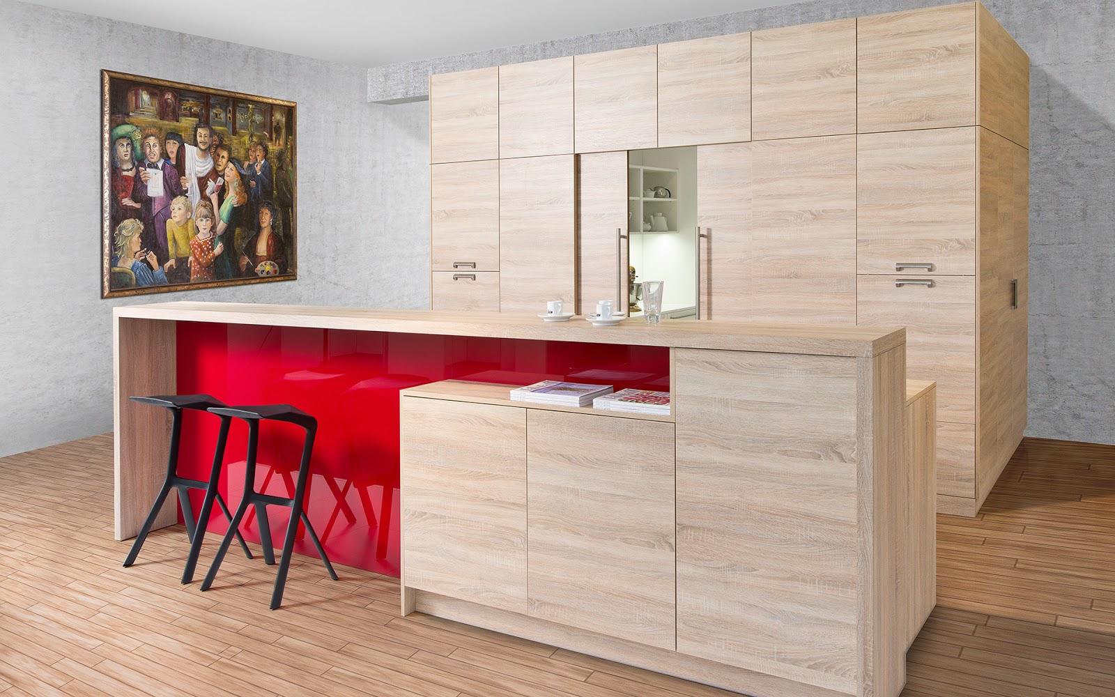 ideas de mesas y barras para comer en la cocina