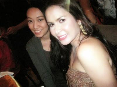 Trisha Sebastian with Jingky Pacquiao