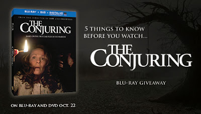 The Conjuring blu-ray/dvd giveaway