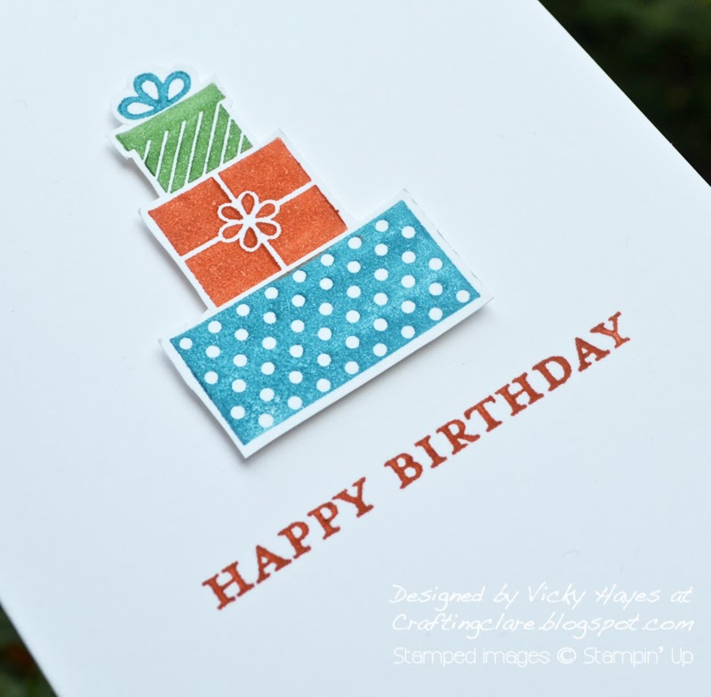 Presents from Wishing You by Stampin Up
