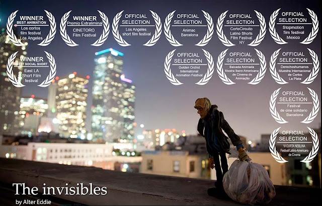 Los Invisibles, animación y reflexión en plastilina
