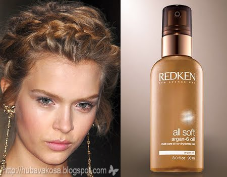 Redken all soft argan-6 oil за Суха Коса