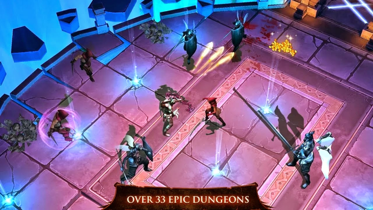 Dungeon Hunter 4 v1.7.0m Mod [Unlimited Gold & Gems]