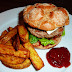 Turkey Burger and Fries - The best kind of Fast Food!
