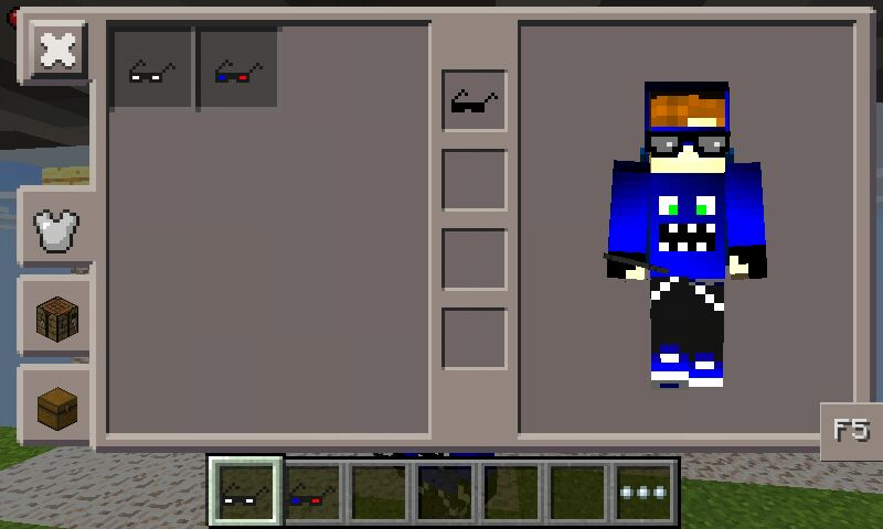 Mobile Minecraft - Skin para minecraft de oculos