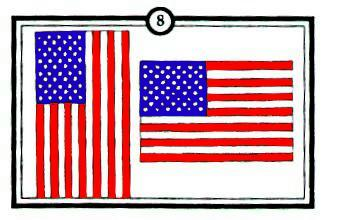From the galley american flag etiquette on 9 11 for Proper placement of american flag
