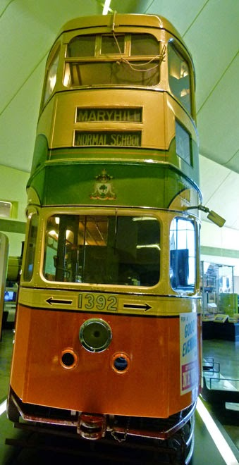 Riverside Museum, Glasgow, Scottish Transport, trams