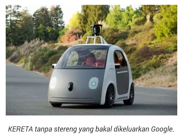 Google Bakal Keluarkan Kereta Tanpa Stereng!!!