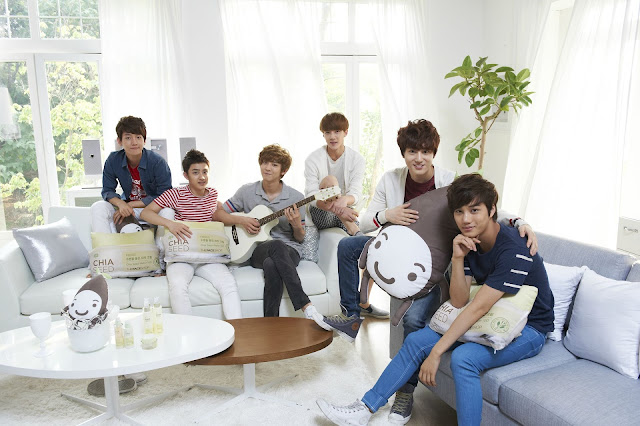 "EXO-K for The Face Shop ""Chia Seed"""