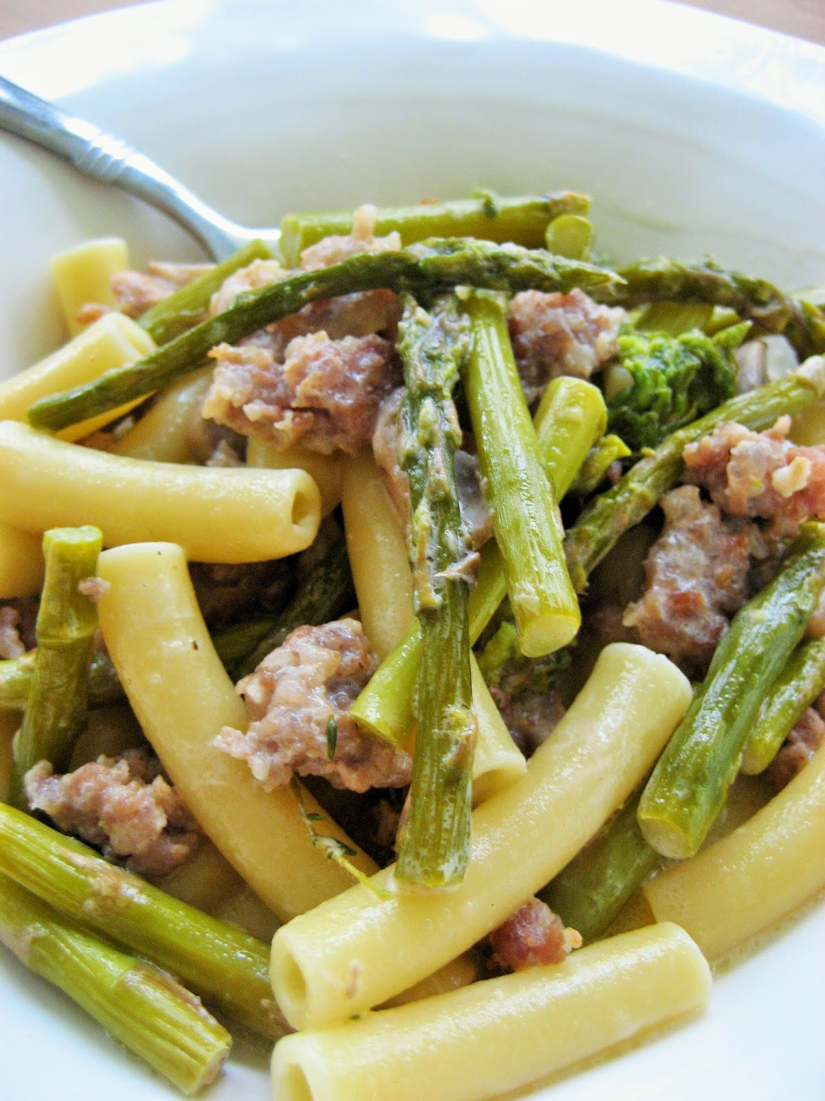 Sausage-Asparagus