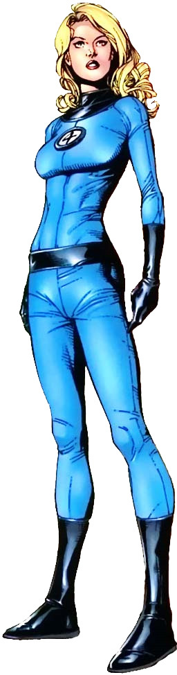 Invisible Woman Cartoon Photos