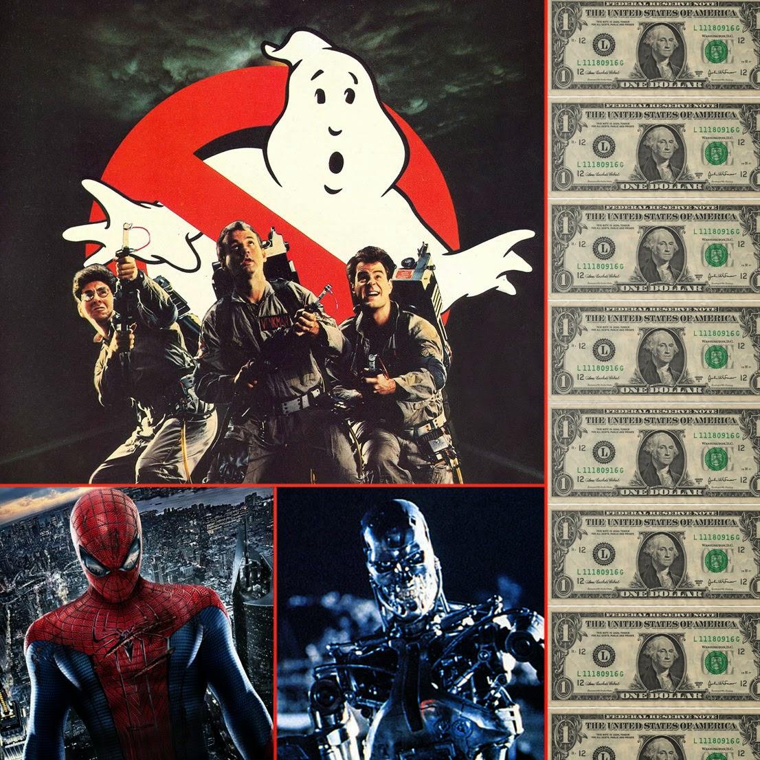 Reboot remake precuela secuela cazafantasmas ghostbusters terminator spiderman