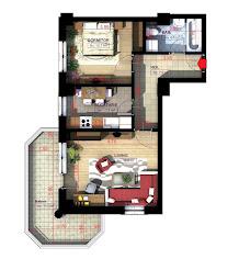 Royal Town Copou - Apartament 2 camere - 60,70 mp