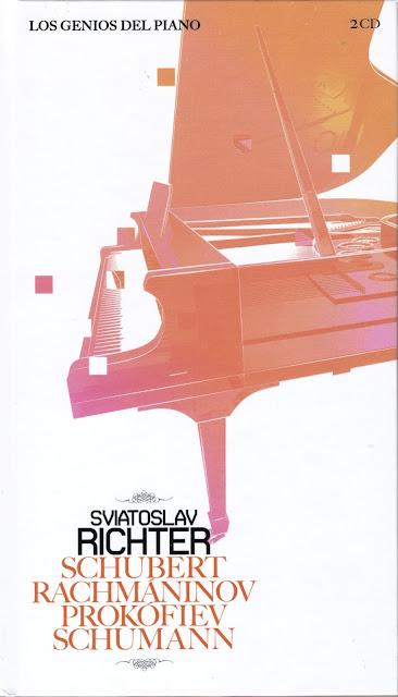 Imagen de Colección Los Genios del Piano-10-Sviatoslav Richter & Schubert, Rachmaninov, Prokofiev y Schumann