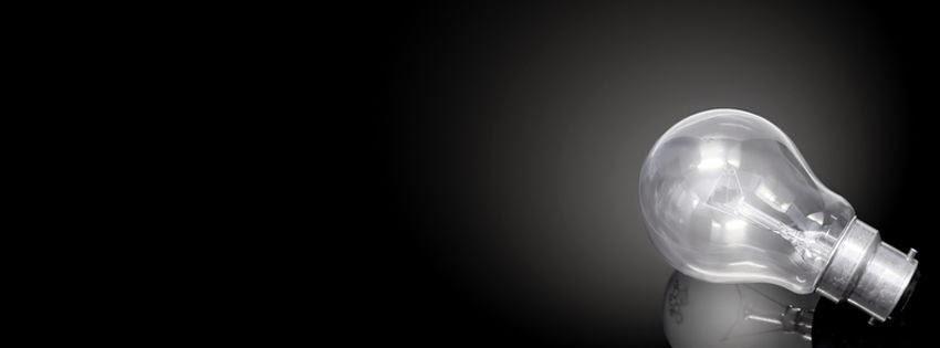 Une photo de couverture facebook obscurité et lumière