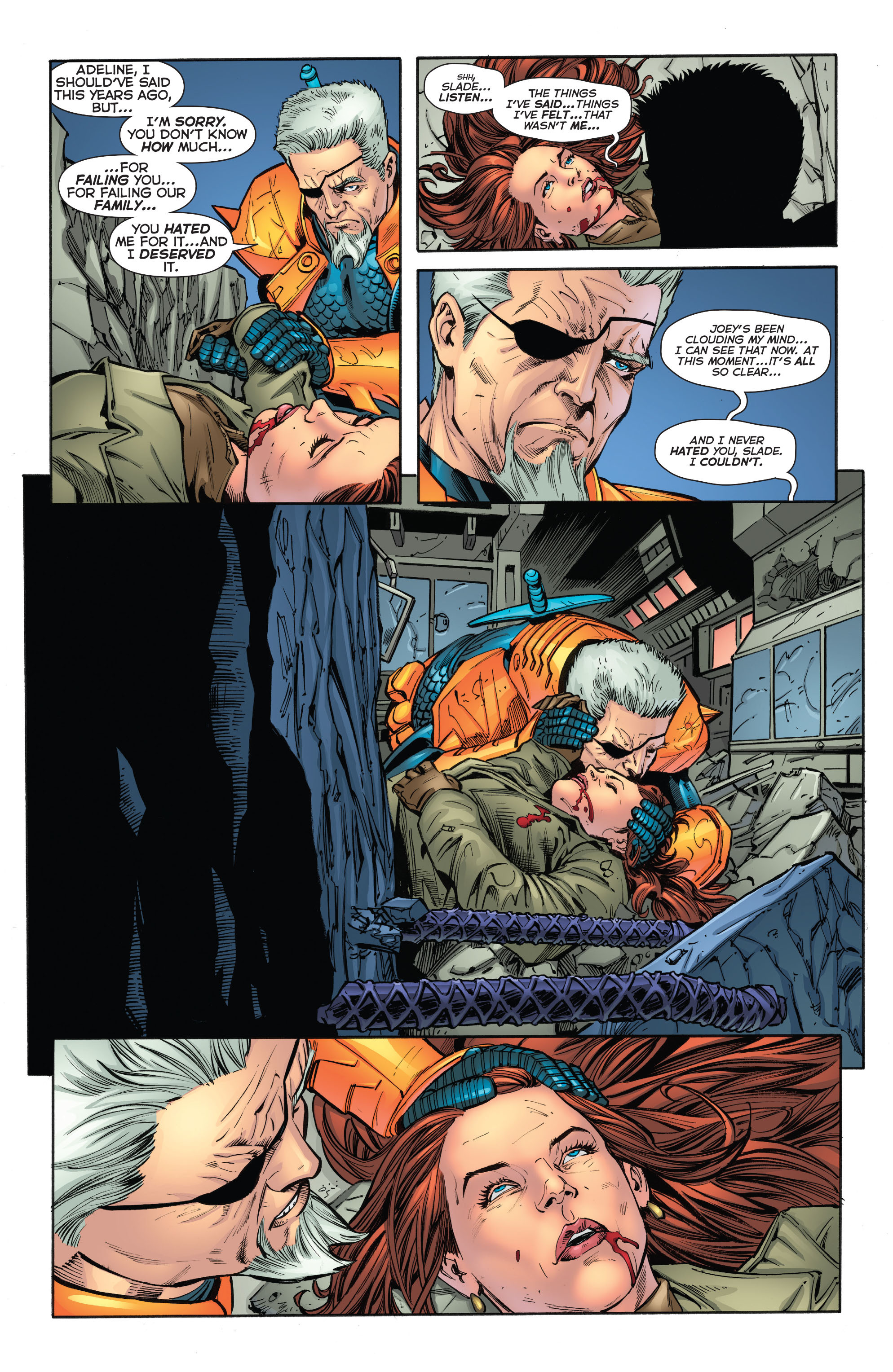 Deathstroke (2011) Issue #20 #21 - English 6