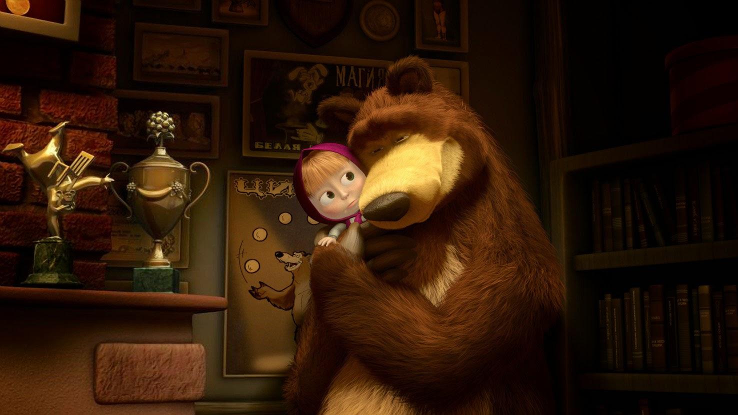 Картинки Маша и Медведь. Маша и Миша - лучшие друзья