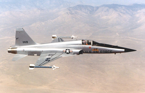 F-5 Tiger US Supersonic Fighter jet