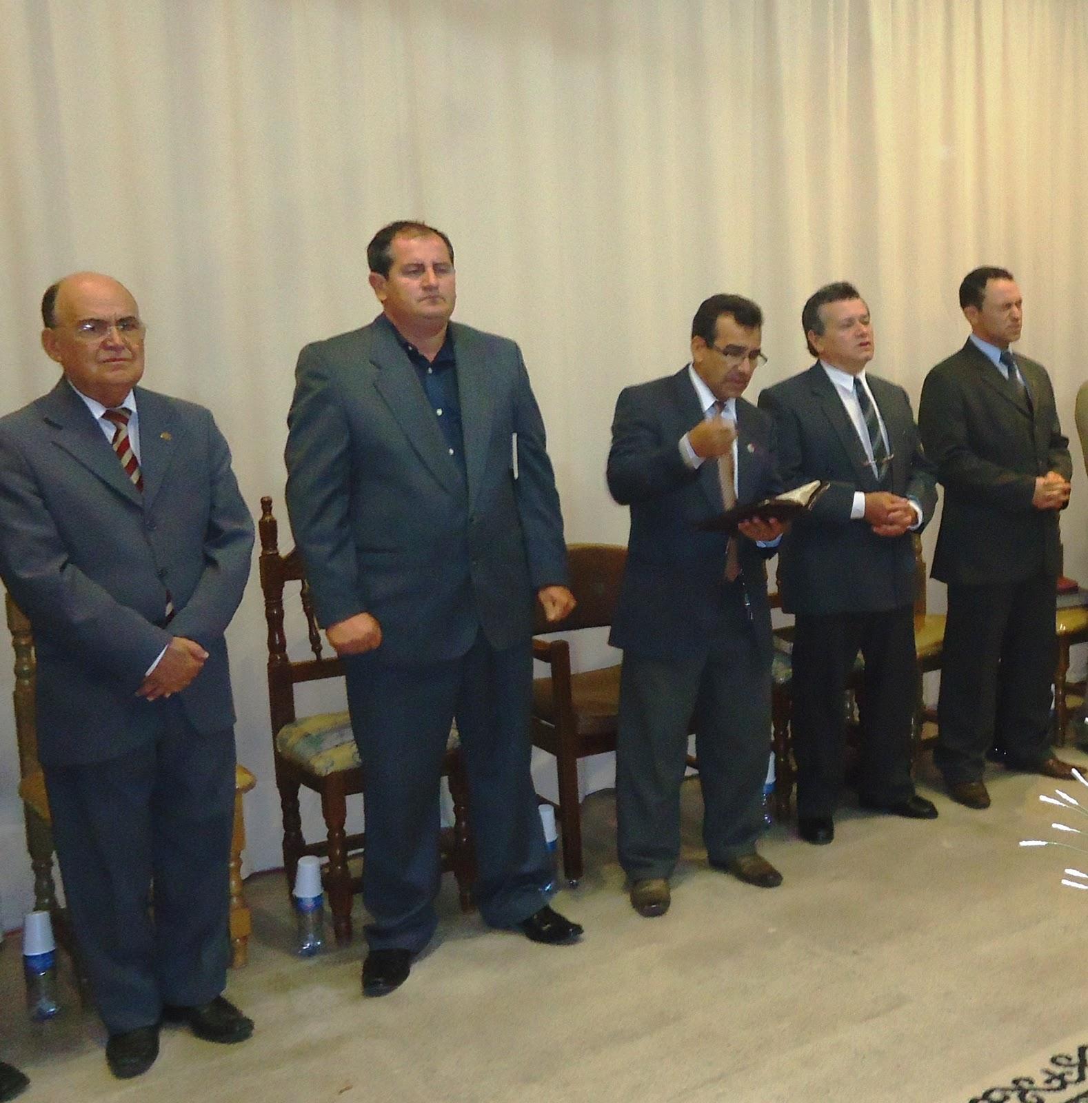 Milto Leite: A Voz Missionária: Visita Missionária A San Lorenzo-Paraguai