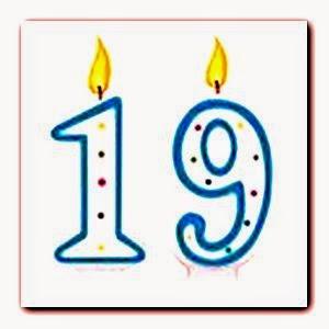 Poème joyeux anniversaire 19 ans