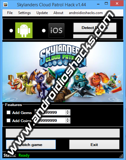 android coins hack, skylander cloud patrol android root, descargar
