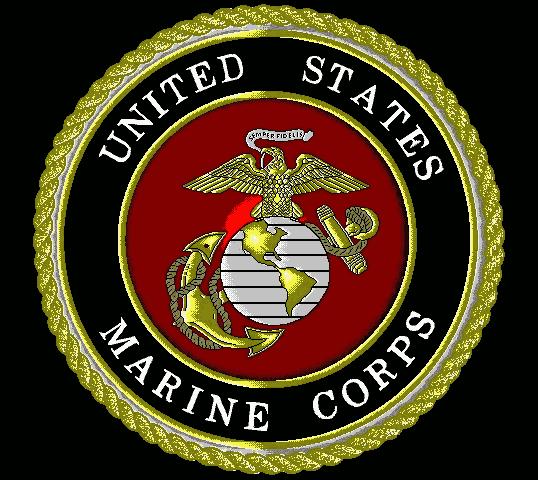 US Marine Logo Helicopter flight training