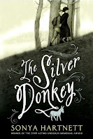 the silver donkey by sonya hartnett book cover
