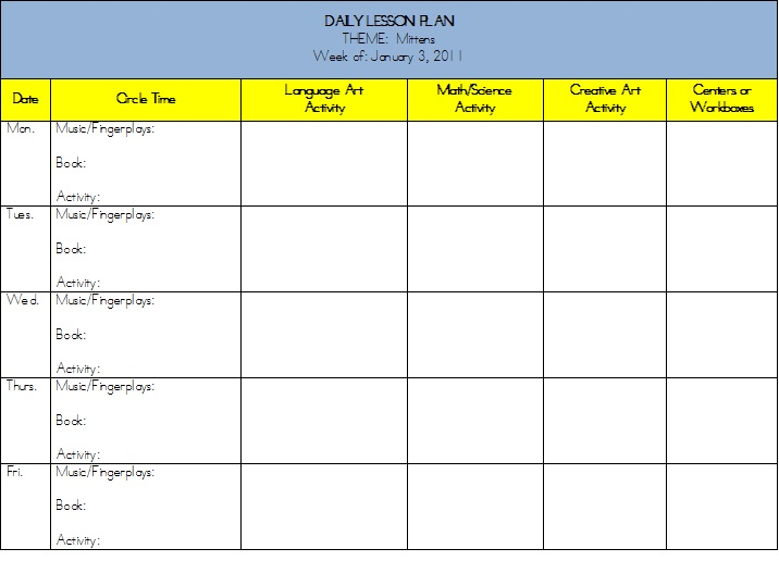 esol lesson plan template - middle school lesson plans template weekly planning faq