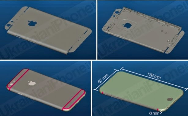 iPhone 6: spessore di soli 6 millimetri