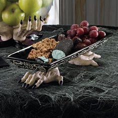 witch hand serving tray 3900 - Grandin Road Halloween Haven