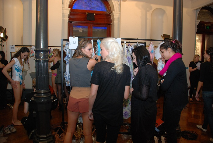 Mercedes-Benz, Fashion, Festival, Sydney, Show, backstage, changing room, models