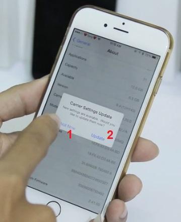 Thủ thuật chặn thông báo cập nhật trên iPhone 6 Lock Nhật - 84130