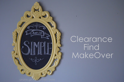 Easy DIY Mirror Makeover Idea
