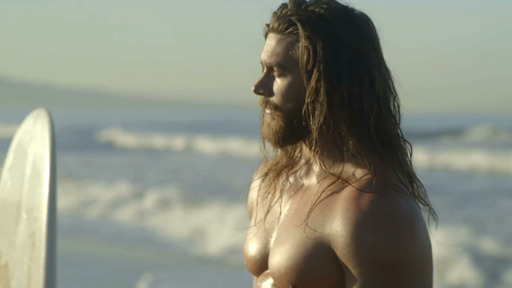 Nearly naked Instagram star Brock O'Hurn heats up Icelandic Glacial bottle water commercial