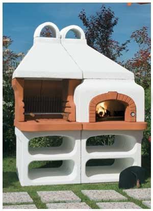 Il forno a legna il forno a legna fazenda by alfa - Forno per giardino ...