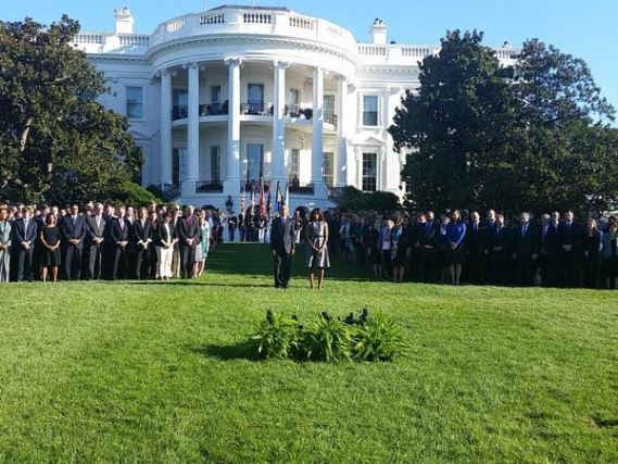 Obama & White House staff  Sep 11 silence