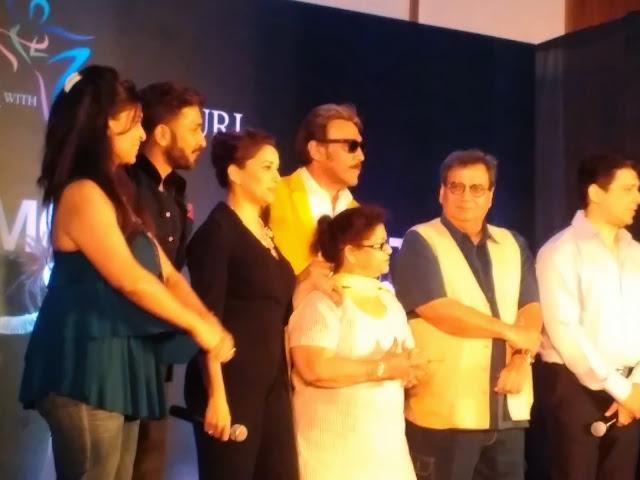 Madhuri, Dr Nene, Jackie Shroff, Saroj Khan Etc