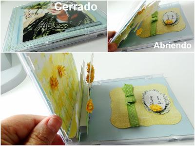 Tarjeta Pop Up en CD día de la Madre - sello Hanglar