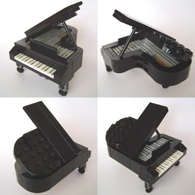 Blxbrx Blacks Bricks Blog Lego Grand Piano Instructions To Build